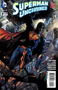 SUPERMAN UNCHAINED #9 FINCH VAR ED