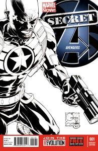 SECRET AVENGERS #1 QUESADA SKETCH VAR NOW