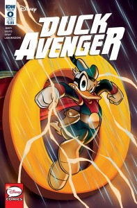 DUCK AVENGER #0 SUBSCRIPTION VAR