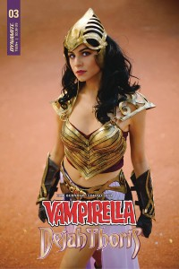 VAMPIRELLA DEJAH THORIS #3 CVR F DEJAH THORIS COSPLAY