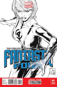 FANTASTIC FOUR #1 QUESADA SKETCH VAR NOW