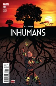 ALL NEW INHUMANS #8