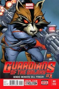 GUARDIANS OF GALAXY #1 QUESADA VAR NOW