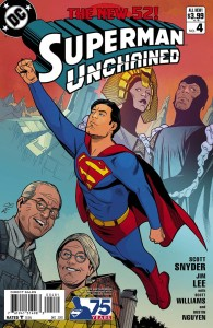 SUPERMAN UNCHAINED #4 75TH ANNIV VAR ED MODERN AGE