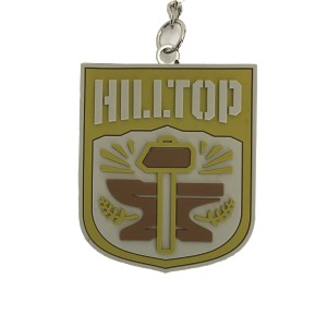 WALKING DEAD HILLTOP FACTION KEYCHAIN