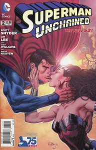 SUPERMAN UNCHAINED #2 75TH ANNIV VAR ED NEW 52 COVER