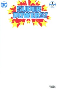 SUPER POWERS #1 (OF 6) BLANK VAR ED
