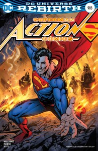 ACTION COMICS #985 VAR ED