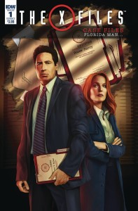 X-FILES CASE FILES FLORIDA MAN #1 CVR A NODET