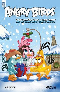 ANGRY BIRDS COMICS QUARTERLY CVR A RODRIQUES