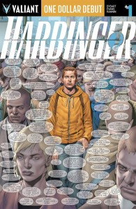 HARBINGER #1 ONE DOLLAR DEBUT (NEW PTG)