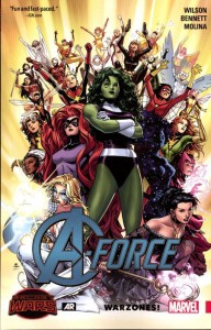 A-FORCE TP WARZONES 00