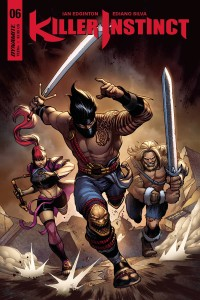 KILLER INSTINCT #6 (OF 6) CVR A CINAR