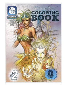 SOULFIRE COLORING BOOK SPECIAL TP VOL 02