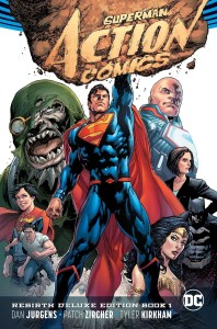 SUPERMAN ACTION COMICS REBIRTH DELUXE COLLECTION HC VOL 01