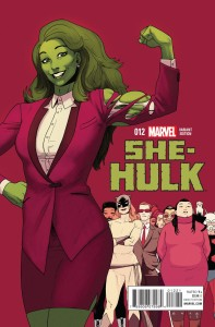 SHE-HULK #12 ANKA FINAL ISSUE VAR