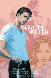 ANGEL AND FAITH SEASON 9 LIBRARY ED HC 01