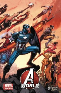 AVENGERS WORLD #1 ADAMS WRAPAROUND VAR