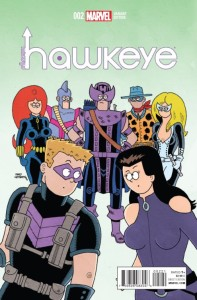 ALL NEW HAWKEYE #2 HEMBECK VAR