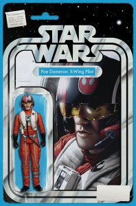 STAR WARS POE DAMERON #1 CHRISTOPHER ACTION FIGURE VAR