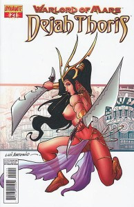 WARLORD OF MARS DEJAH THORIS #21 15 COPY RISQUE INCV