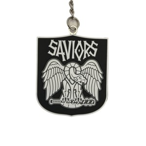 WALKING DEAD SAVIORS FACTION KEYCHAIN