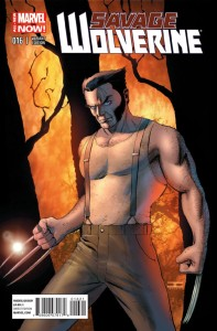 SAVAGE WOLVERINE #16 CASSADAY VAR