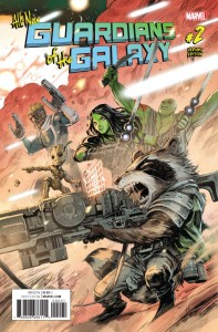 ALL NEW GUARDIANS OF GALAXY #2 VAR