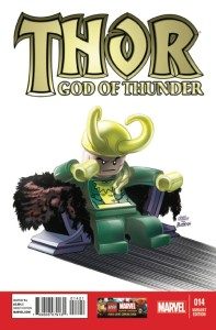 THOR GOD OF THUNDER #14 LEGO CASTELLANI VF