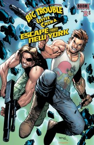 BIG TROUBLE LITTLE CHINA ESCAPE NEW YORK #2 SUBSCRIPTION RAMOS VAR