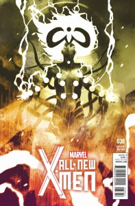 ALL NEW X-MEN #38 SORRENTINO COSMICALLY VAR BV