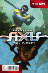 AVENGERS AND X-MEN AXIS #6 (OF 9) INVERSION RIBIC