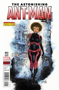 ASTONISHING ANT-MAN #12 OUM DEFENDERS VAR
