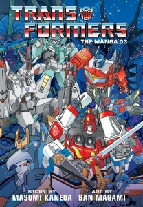 TRANSFORMERS CLASSIC TV MAGAZINE MANGA HC VOL 03