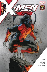 X-MEN RED #2 LEG WW