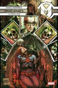 MIRACLEMAN BY GAIMAN AND BUCKINGHAM #3 HARRIS VAR