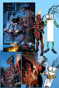 DEADPOOL #12 KOBLISH SECRET COMIC VAR