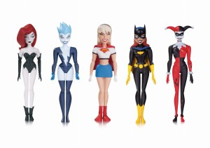 BATMAN ANIMATED NBA GIRLS NIGHT OUT AF 5 PACK