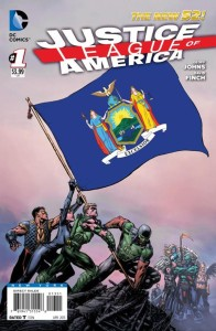 JUSTICE LEAGUE OF AMERICA #1 NEW YORK VAR ED (N52)
