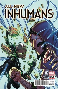 ALL NEW INHUMANS #10