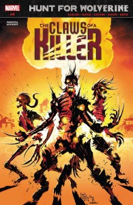HUNT FOR WOLVERINE CLAWS OF KILLER #4 (OF 4)