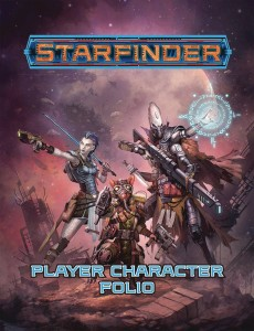 STARFINDER RPG PLAYER CHARACTER FOLIO SC