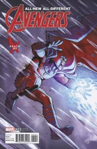 ALL NEW ALL DIFFERENT AVENGERS #12 DEATH OF X VAR