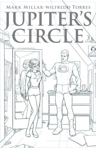 JUPITERS CIRCLE #3 C QUITELY BLACK & WHITE