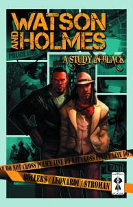 WATSON AND HOLMES TP VOL 01 STUDY IN BLACK