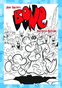 JEFF SMITH BONE GREAT COW RACE ARTIST EDITION HC