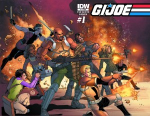 GI JOE #1 25 COPY INCV