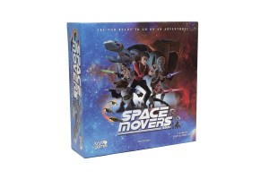 SPACE MOVERS 2201 BOARD GAME