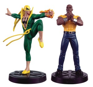 MARVEL FACT FILES SPECIAL #30 HEROES FOR HIRE SET