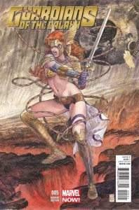 GUARDIANS OF GALAXY #5 MANARA ANGELA VAR